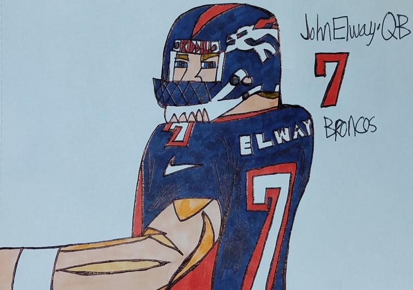 John Elway par armattock